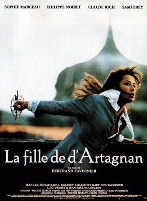 La fille de d'Artagnan - French Movie Poster (thumbnail)
