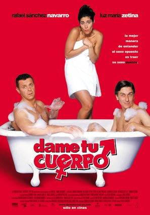 Dame tu cuerpo - Mexican Movie Poster (thumbnail)