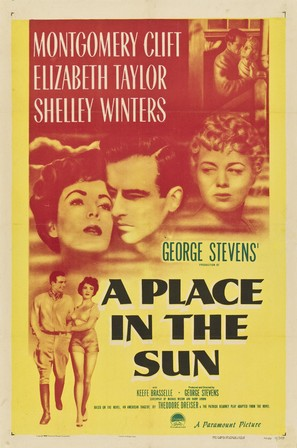 A Place in the Sun - Movie Poster (thumbnail)