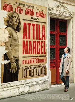 Attila Marcel - French Movie Poster (thumbnail)
