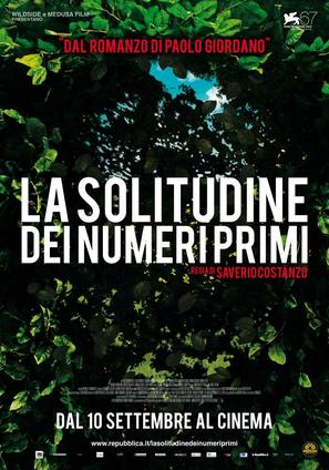 La solitudine dei numeri primi - Italian Movie Poster (thumbnail)