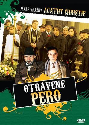 """Les petits meurtres d'Agatha Christie"" - Czech DVD cover (thumbnail)"