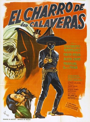 El charro de las Calaveras - Mexican Movie Poster (thumbnail)