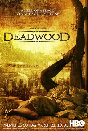 """Deadwood"" - Movie Poster (thumbnail)"
