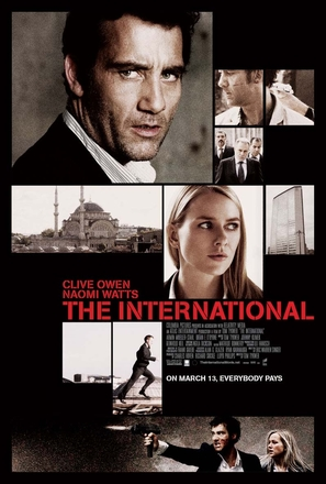 The International - Movie Poster (thumbnail)