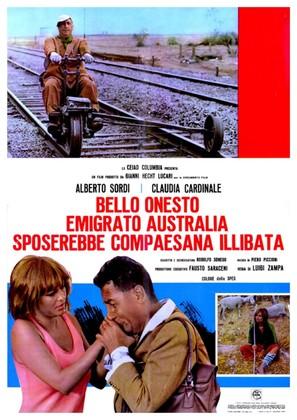 Bello, onesto, emigrato Australia sposerebbe compaesana illibata - Italian Movie Poster (thumbnail)