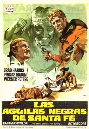 Schwarzen Adler von Santa Fe, Die - Spanish Movie Poster (thumbnail)