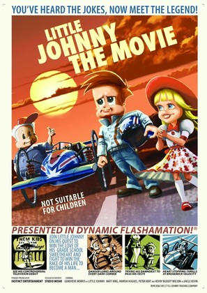 Little Johnny the Movie - Australian Movie Poster (thumbnail)