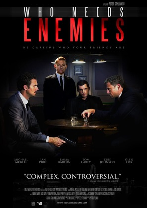 Who Needs Enemies - British Movie Poster (thumbnail)