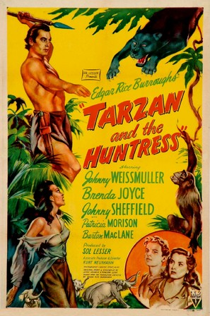 Tarzan and the Huntress - Movie Poster (thumbnail)