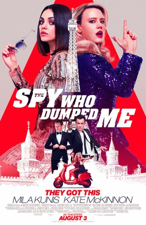 The Spy Who Dumped Me - Movie Poster (thumbnail)