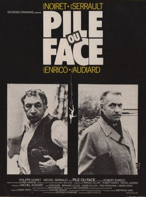 Pile ou face - French Movie Poster (thumbnail)