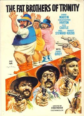 Ninguno de los tres se llamaba Trinidad - Movie Poster (thumbnail)