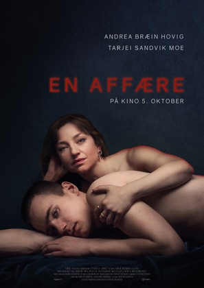 En affære - Norwegian Movie Poster (thumbnail)