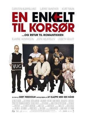 Enkelt til Korsør, En - Danish Movie Poster (thumbnail)