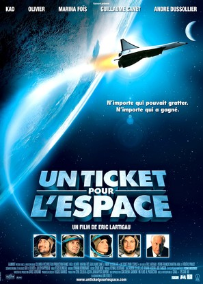 Un ticket pour l'espace - French Movie Poster (thumbnail)