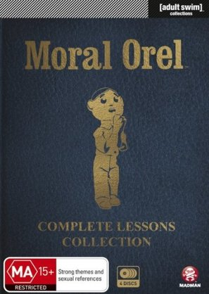"""Moral Orel"" - Australian DVD movie cover (thumbnail)"
