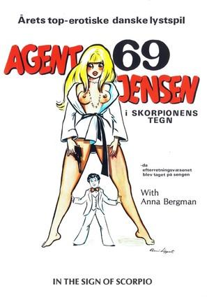 Agent 69 Jensen i Skorpionens tegn - Danish Movie Poster (thumbnail)
