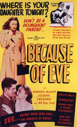 Because of Eve - Movie Poster (thumbnail)