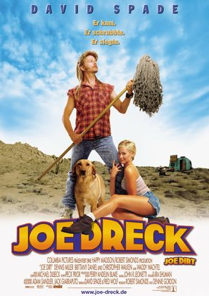 Joe Dirt - German Movie Poster (thumbnail)