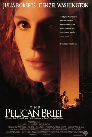 The Pelican Brief - Movie Poster (thumbnail)