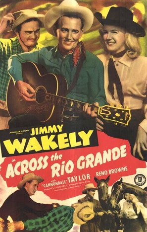 Across the Rio Grande - Movie Poster (thumbnail)
