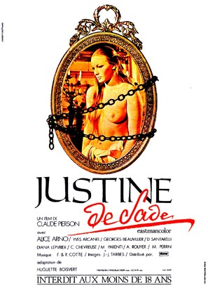 Justine de Sade - French Movie Poster (thumbnail)