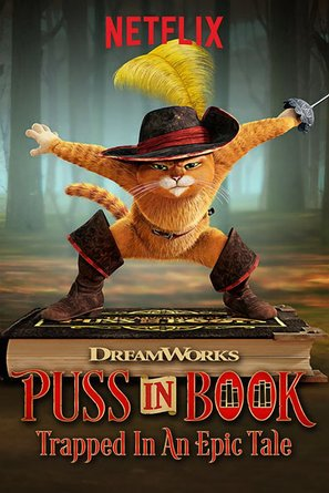 Puss in Book: Trapped in an Epic Tale - Movie Poster (thumbnail)