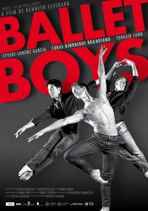 Ballettguttene - Norwegian Movie Poster (thumbnail)