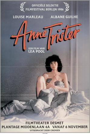 Anne Trister - Dutch Movie Poster (thumbnail)