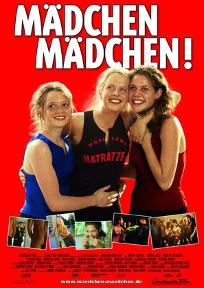 Mädchen, Mädchen - German Movie Poster (thumbnail)