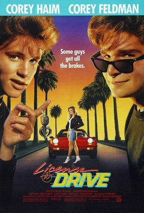 License to Drive - Movie Poster (thumbnail)