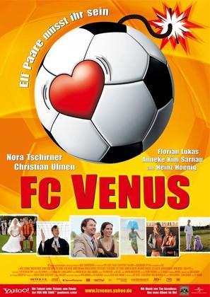 FC Venus - German Movie Poster (thumbnail)