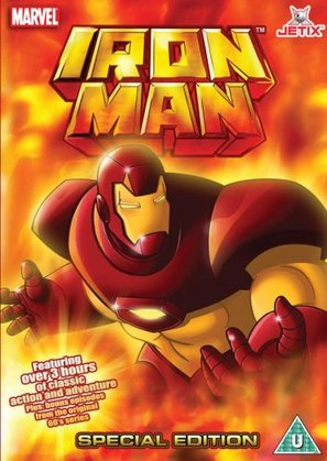 """Iron Man"" - British DVD cover (thumbnail)"