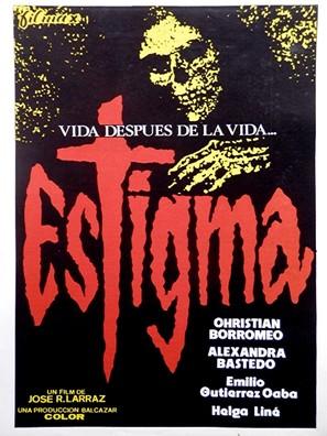 Estigma - Spanish Movie Poster (thumbnail)