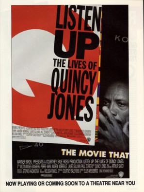 Listen Up: The Lives of Quincy Jones - Movie Poster (thumbnail)