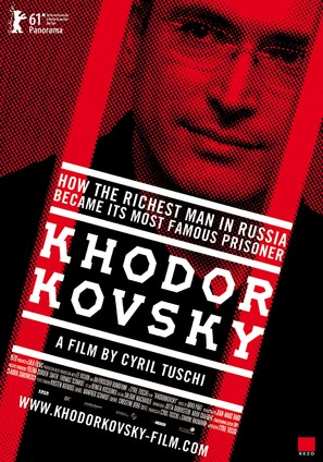 Khodorkovsky - British Movie Poster (thumbnail)