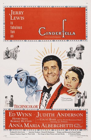 Cinderfella - Theatrical poster (thumbnail)