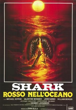 Shark: Rosso nell'oceano - Italian Movie Poster (thumbnail)