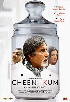 Cheeni Kum - Indian Movie Poster (thumbnail)