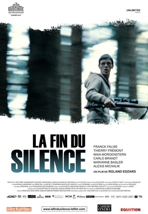 La fin du silence - French Movie Poster (thumbnail)