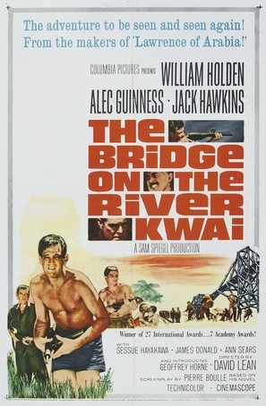 The Bridge on the River Kwai - Re-release movie poster (thumbnail)