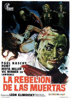 La rebelión de las muertas - Spanish Movie Poster (thumbnail)