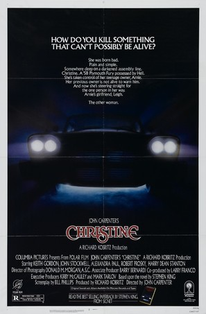 Christine - Movie Poster (thumbnail)