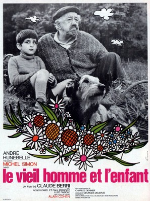 Le vieil homme et l'enfant - French Movie Poster (thumbnail)