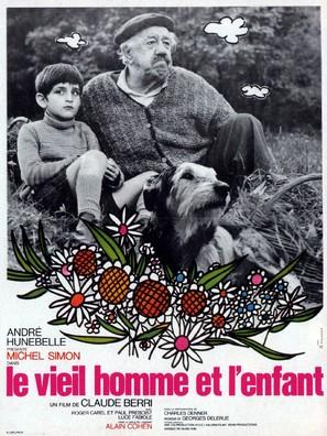 Le vieil homme et l'enfant - French Movie Poster (thumbnail)