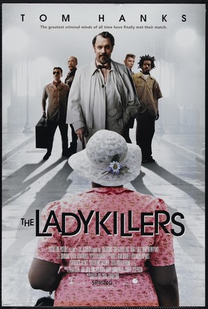 The Ladykillers - Theatrical movie poster (thumbnail)