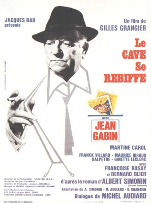 Cave se rebiffe, Le - French Movie Poster (thumbnail)