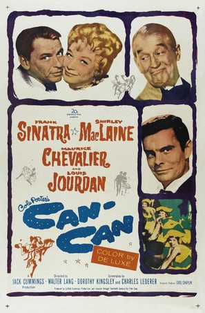 Can-Can - Movie Poster (thumbnail)