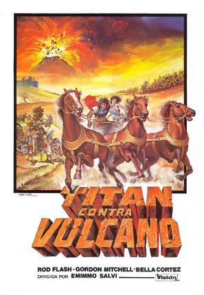 Vulcano, figlio di Giove - Spanish Movie Poster (thumbnail)